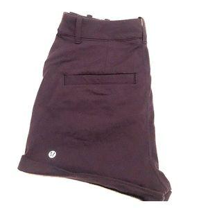 Lululemon high-waisted luon shorts - size 6